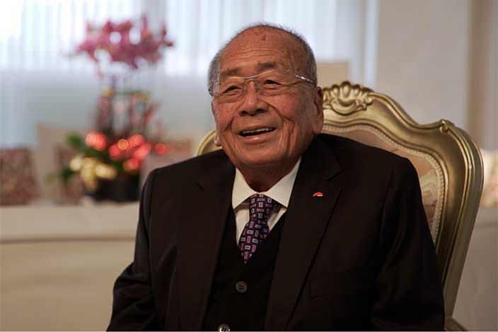 Ли Мэн Тат – председатель производителя соусов и приправ Lee Kum Kee