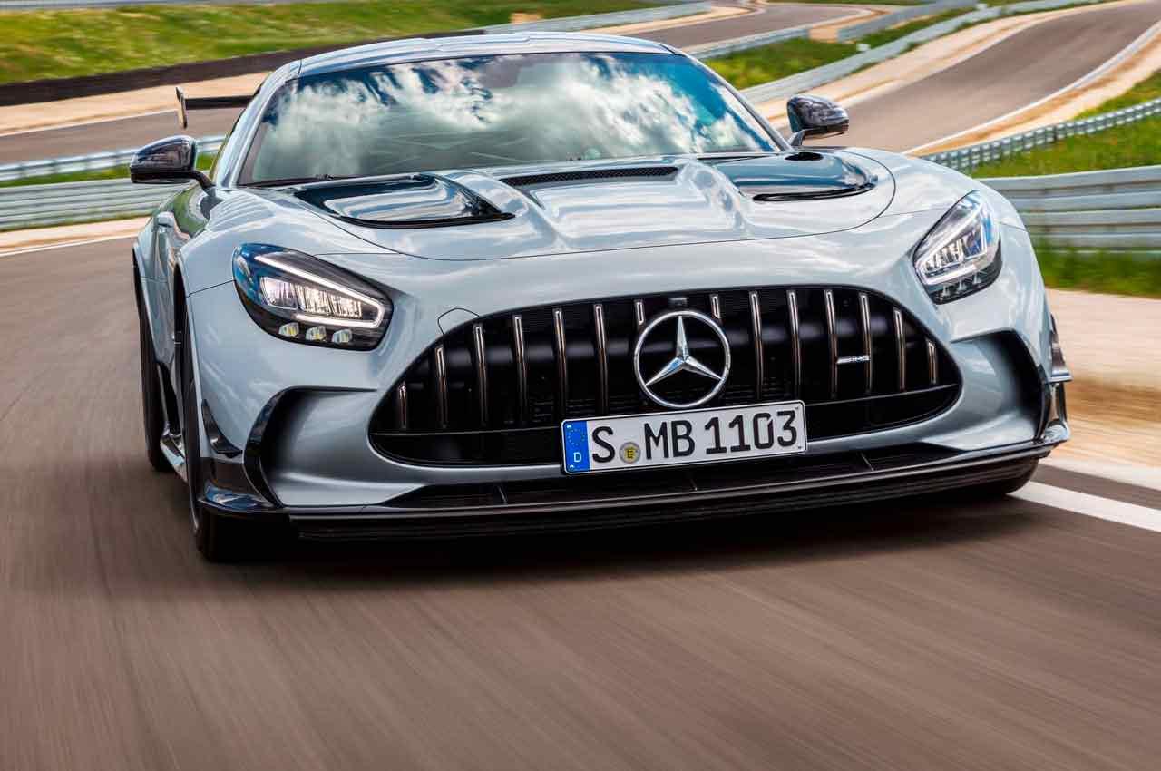 Новый суперкар Mercedes-AMG GT Black Series официально | фото