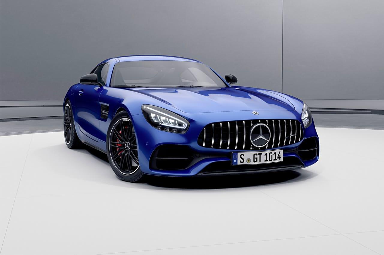 Купе Mercedes-AMG GT прибавили мощности до 523 л.с. | фото