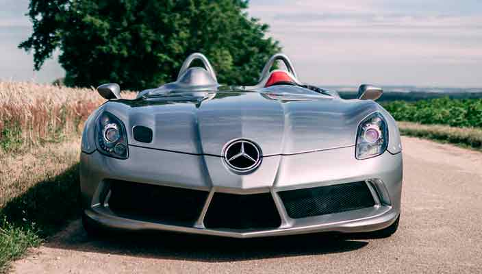 Продается Mercedes SLR Stirling Moss. Один из 75 | фото