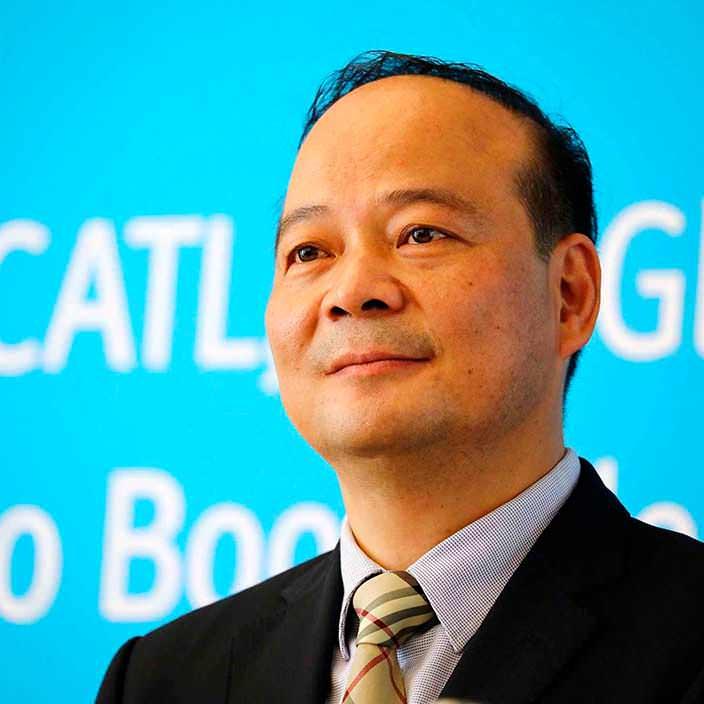 Миллиардер из Китая Зенг Учун, основатель Contemporary Amperex Technology