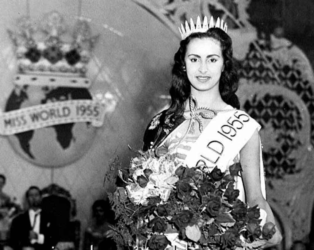 Фото   Мисс Мира 1955 года Сусана Дёйм