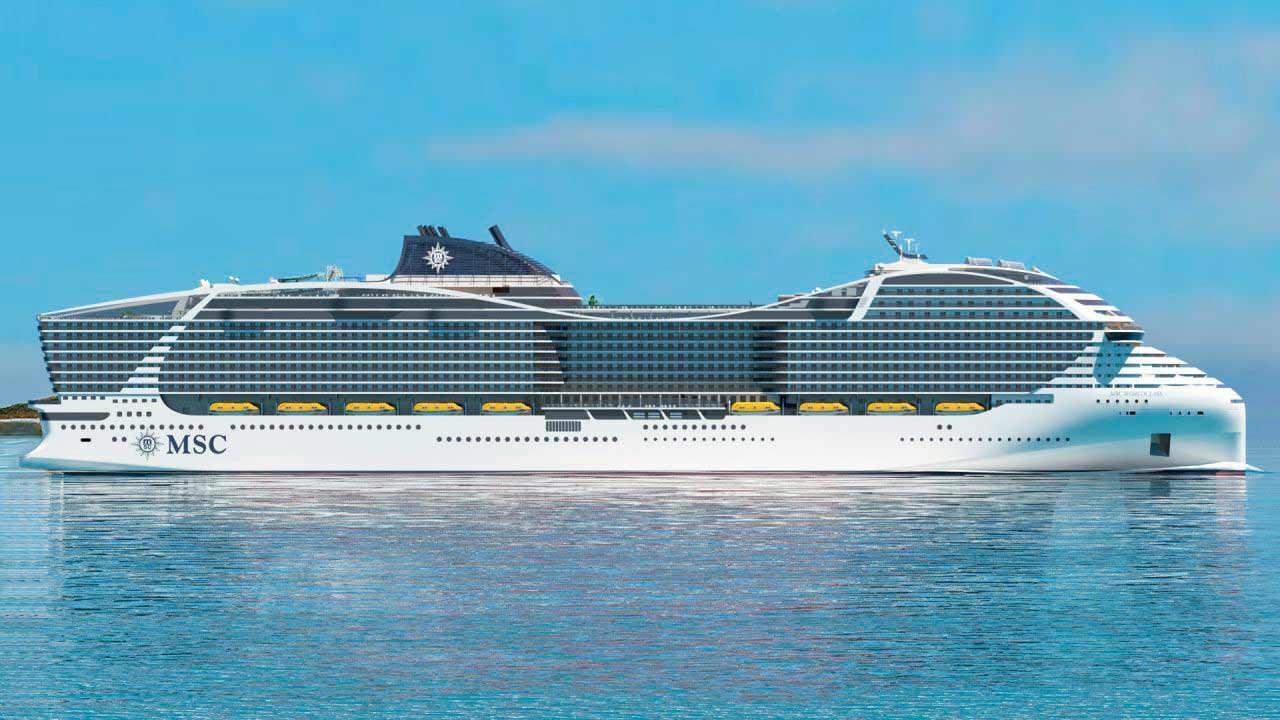 Круизный корабль MSC Europa