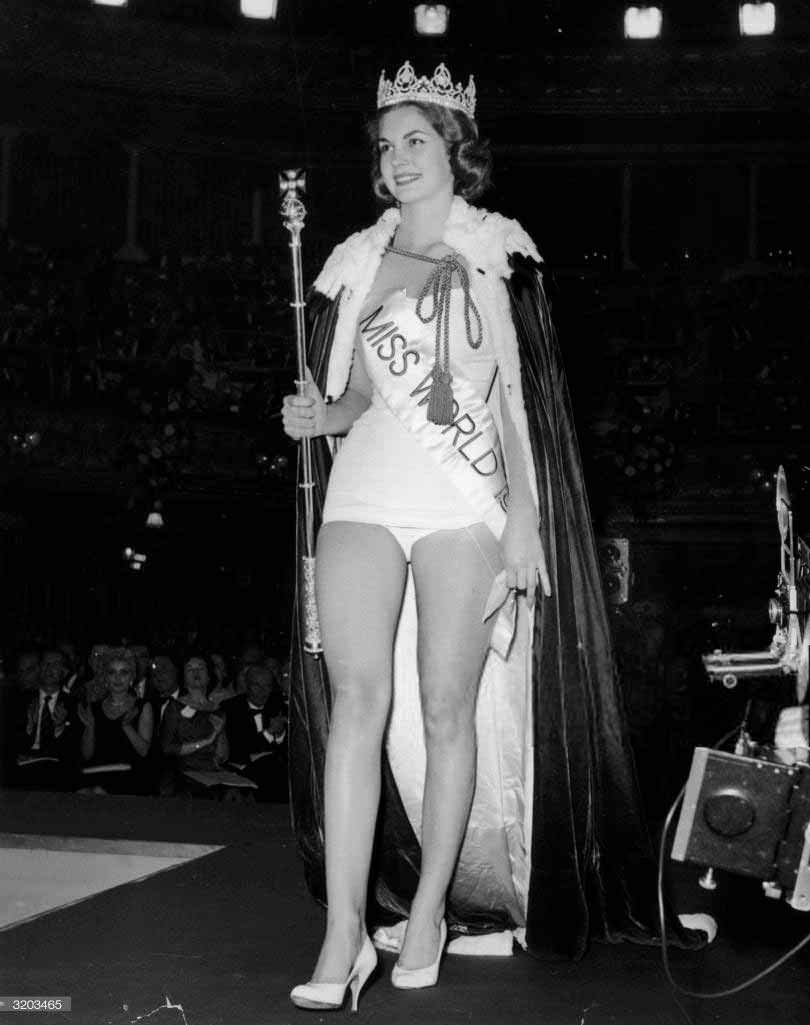 Фото   Мисс Мира 1958 года Пенелопа Кёлен