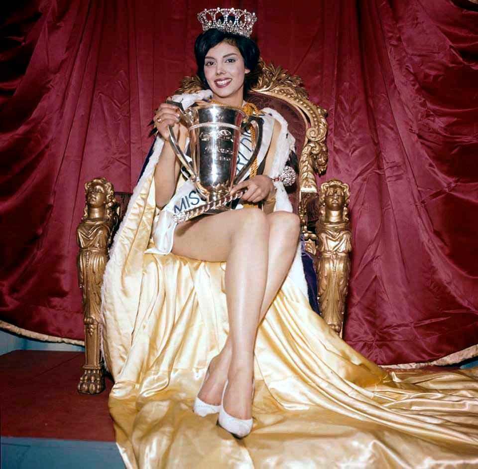 Фото   Мисс Мира 1960 года Норма Каппальи