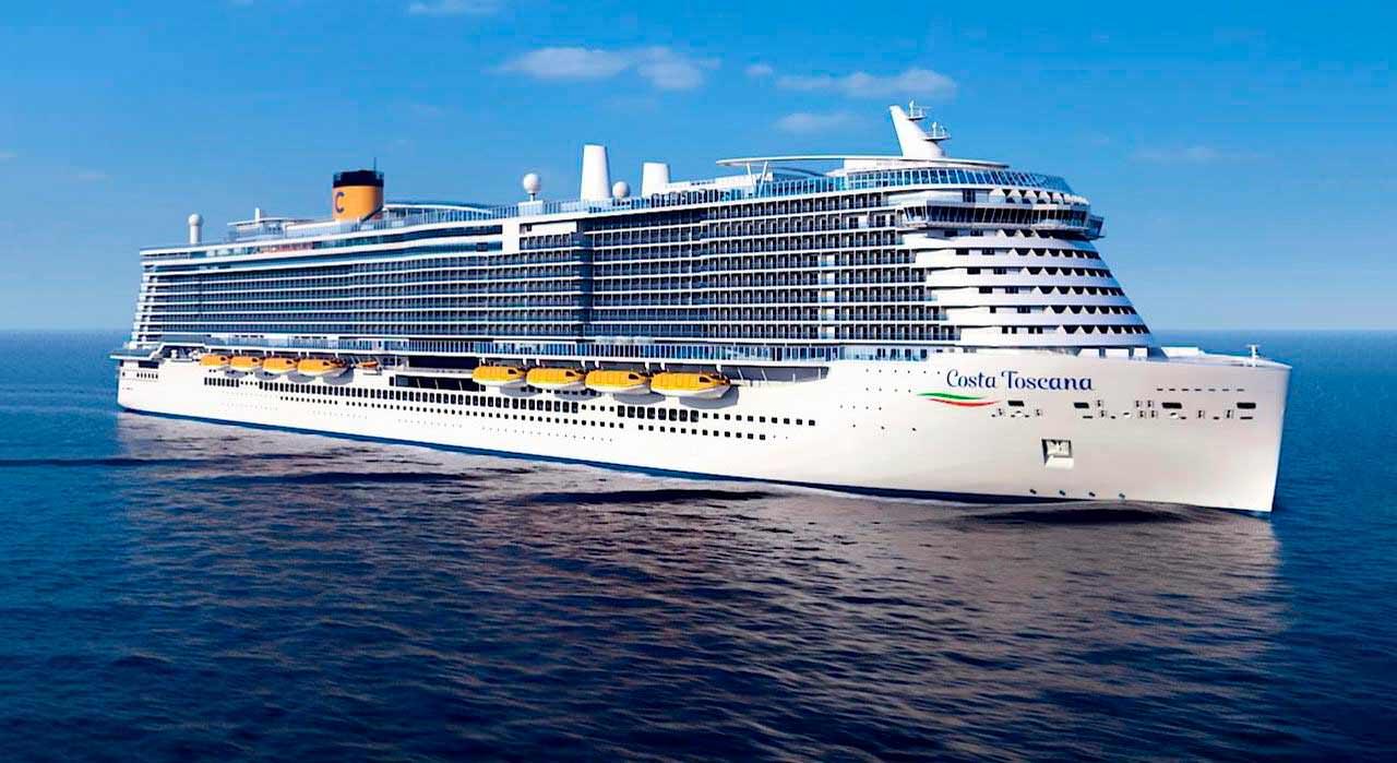Океанский лайнер Costa Toscana