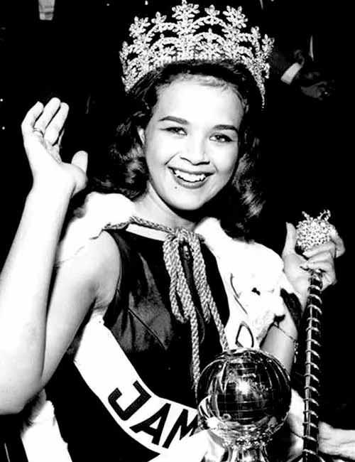 Фото   Мисс Мира 1963 года Кэрол Кроуфорд