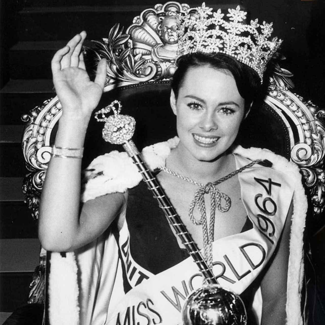 Фото   Мисс Мира 1964 года Энн Сидни