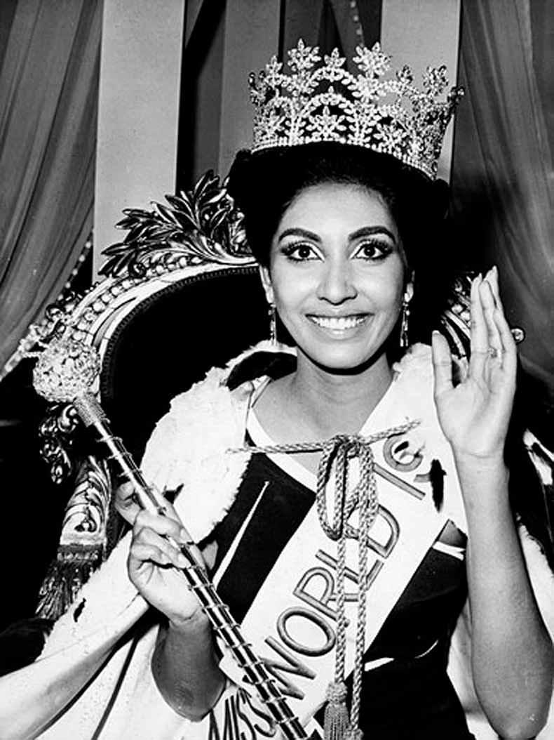 Фото   Мисс Мира 1966 года Рейта Фариа