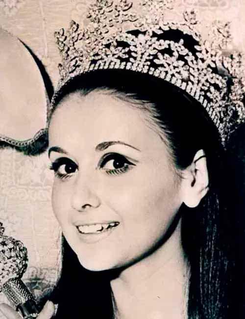 Фото   Мисс Мира 1967 года Маделейн Хартог Белл