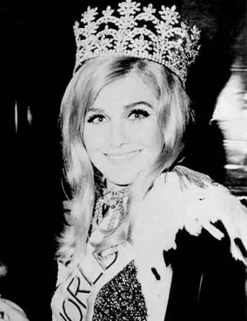 Фото   Мисс Мира 1968 года Пенелопа Пламмер