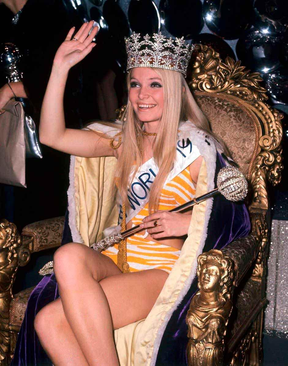 Фото   Мисс Мира 1969 года Ева Рюбер-Штайер