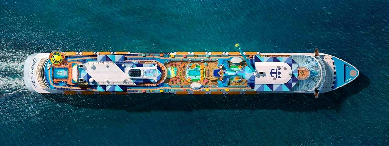 Корабль для океанских круизов Odyssey Of The Seas