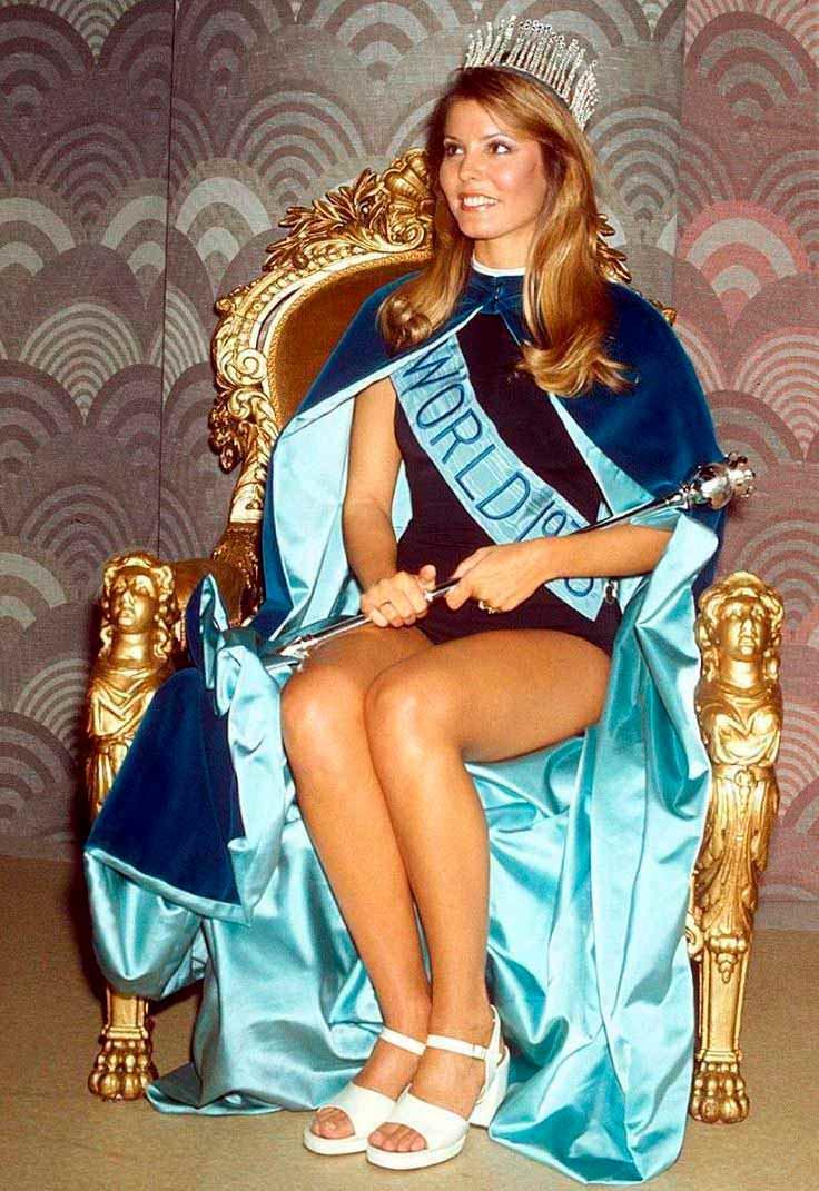 Фото   Мисс Мира 1973 года Марджори Уоллес