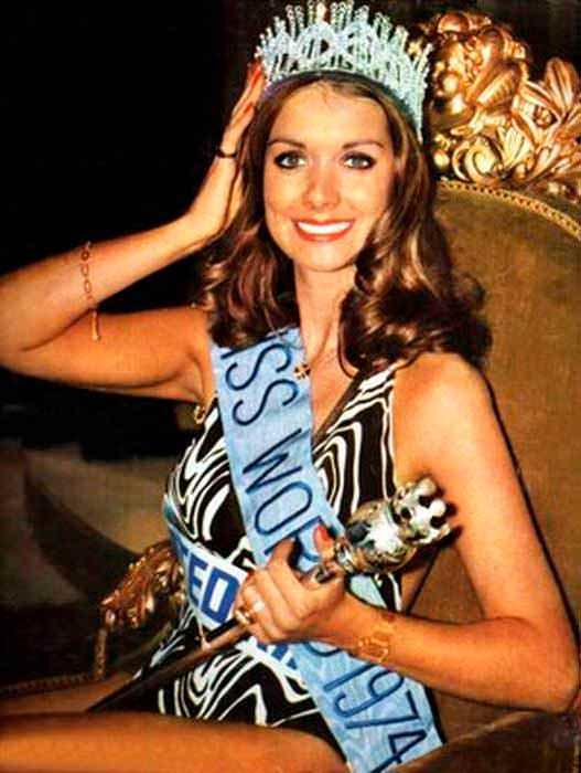 Фото   Мисс Мира 1974 года Хелен Морган