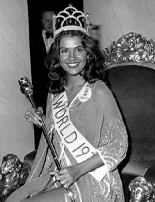 Фото   Мисс Мира 1976 года Синди Брейкспир