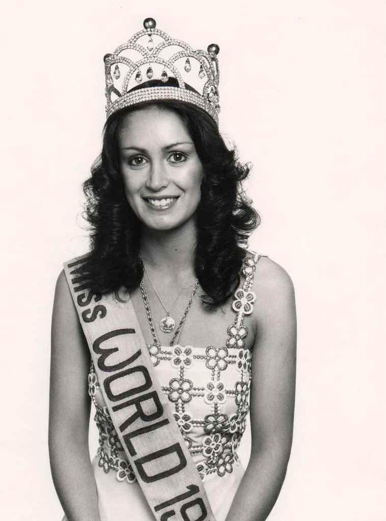 Фото   Мисс Мира 1978 года Сильвана Суарес