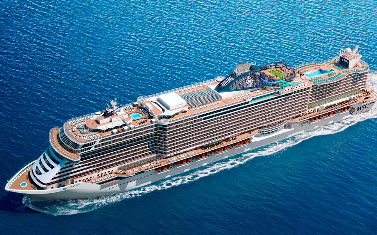 Круизный корабль MSC Seaside