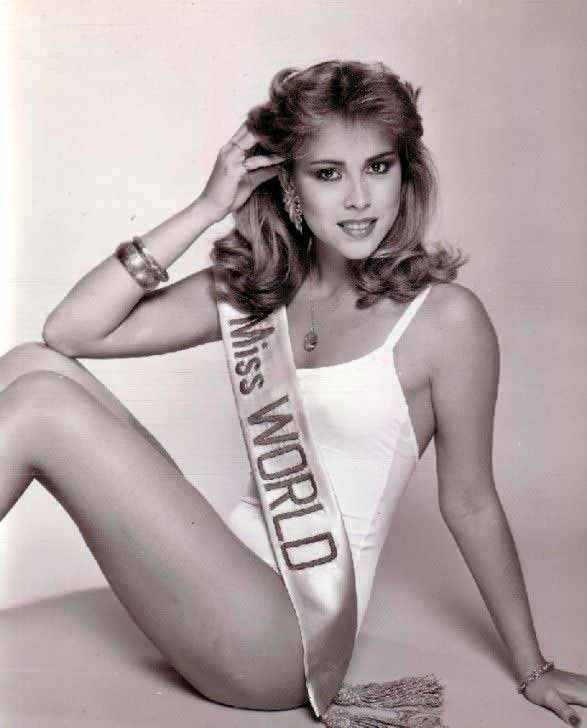 Фото   Мисс Мира 1981 года Пилин Леон