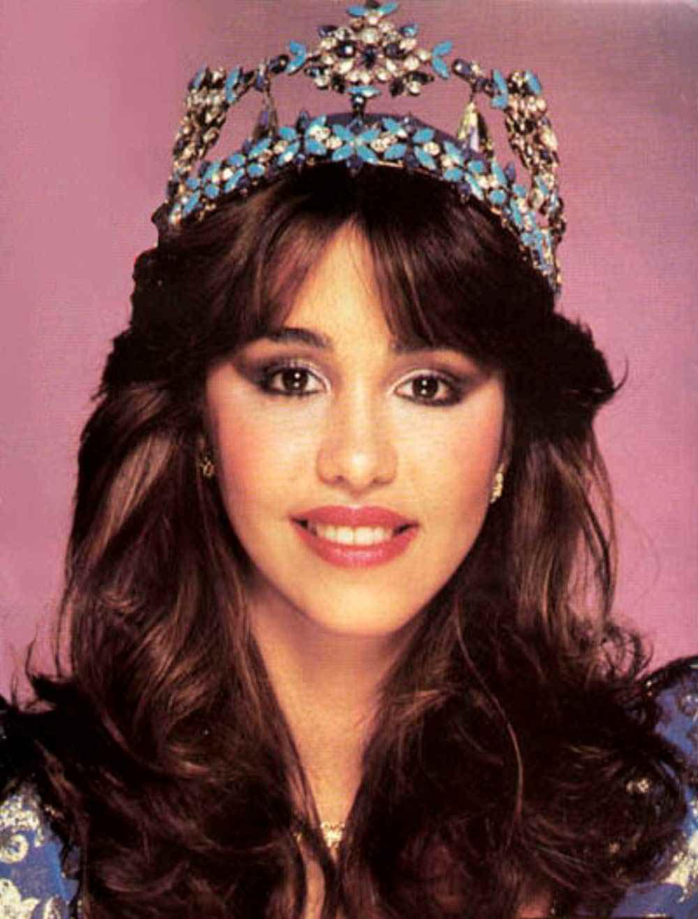 Фото   Мисс Мира 1982 года Мариасела Альварес