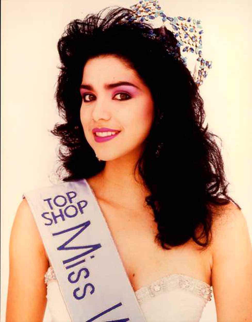 Фото   Мисс Мира 1984 года Астрид Каролина Эррера