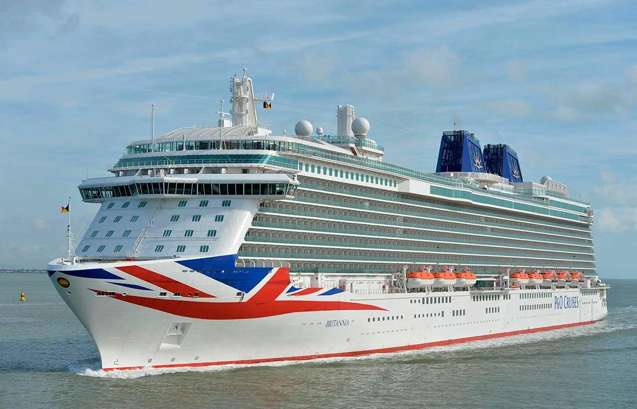Круизный корабль Britannia