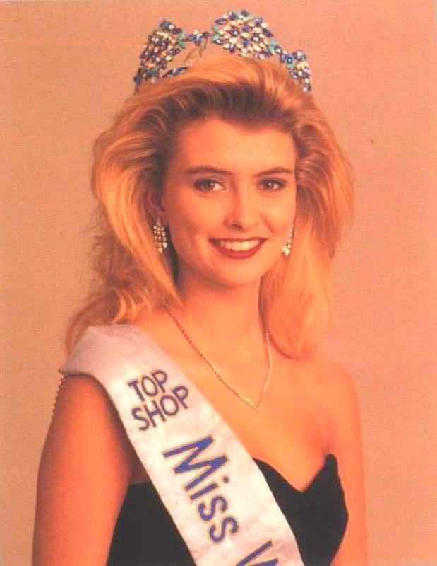 Фото   Мисс Мира 1988 года Линда Петурсдоттир