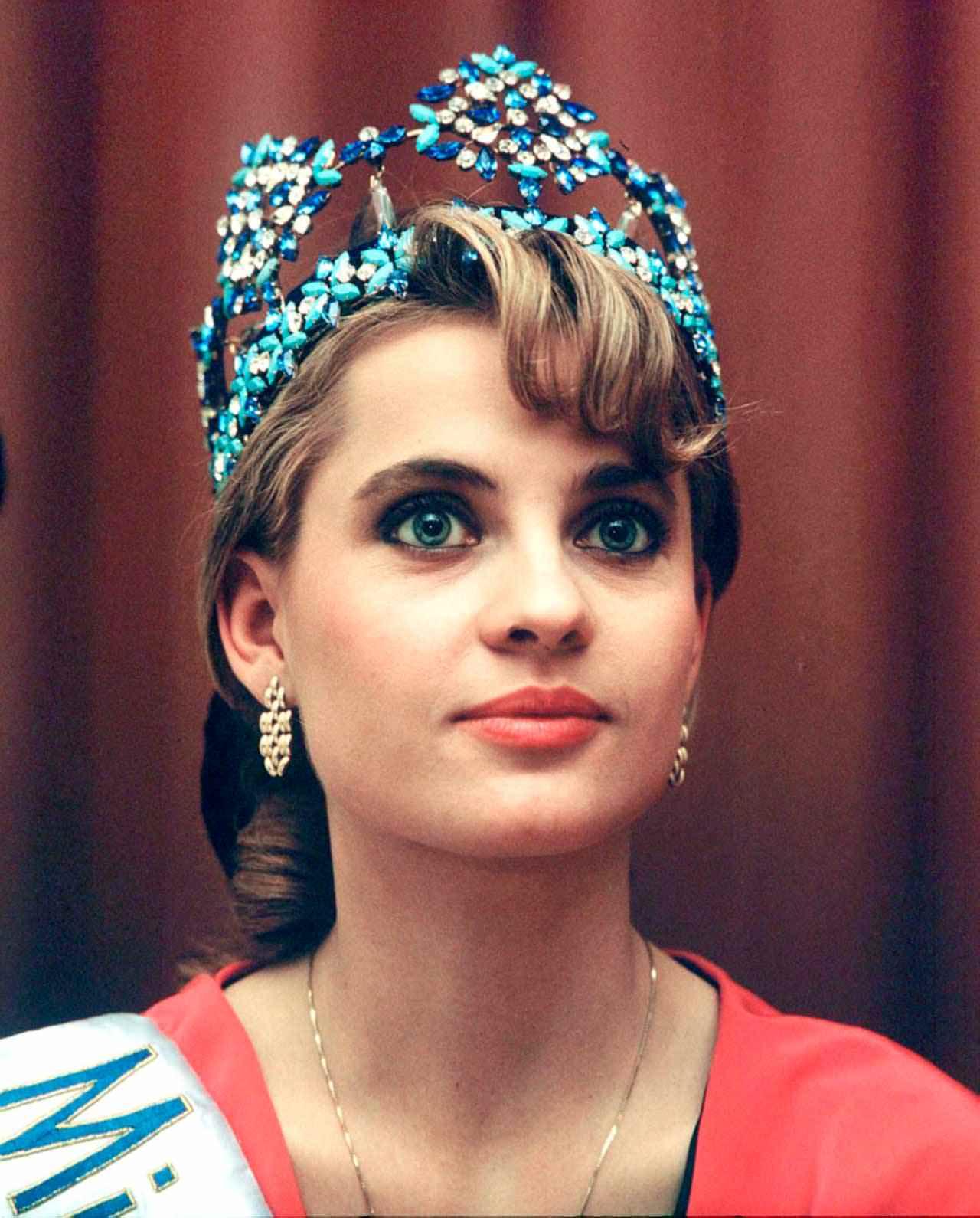 Фото   Мисс Мира 1989 года Анета Кренглицка