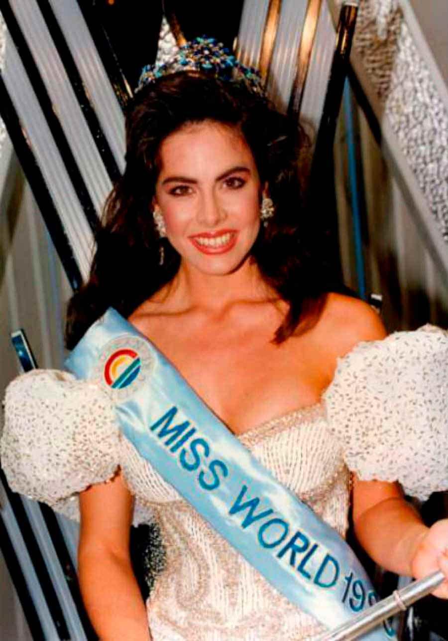 Фото   Мисс Мира 1990 года Джина Толлесон