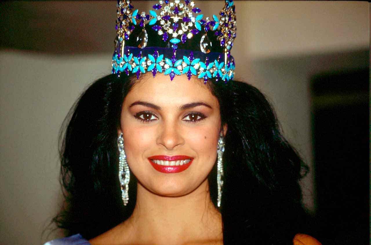 Фото   Мисс Мира 1991 года Нинибет Леаль