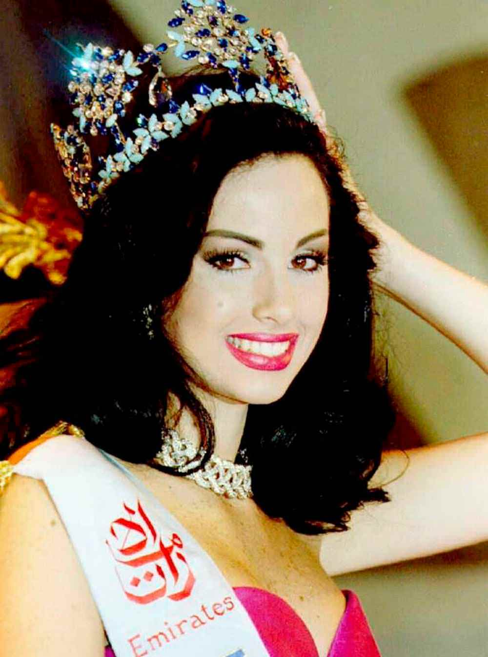 Фото   Мисс Мира 1995 года Жаклин Агилера