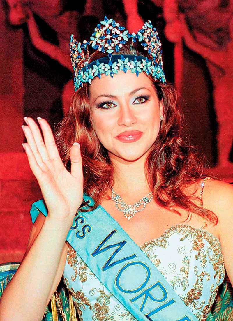 Фото   Мисс Мира 1996 года Ирене Склива