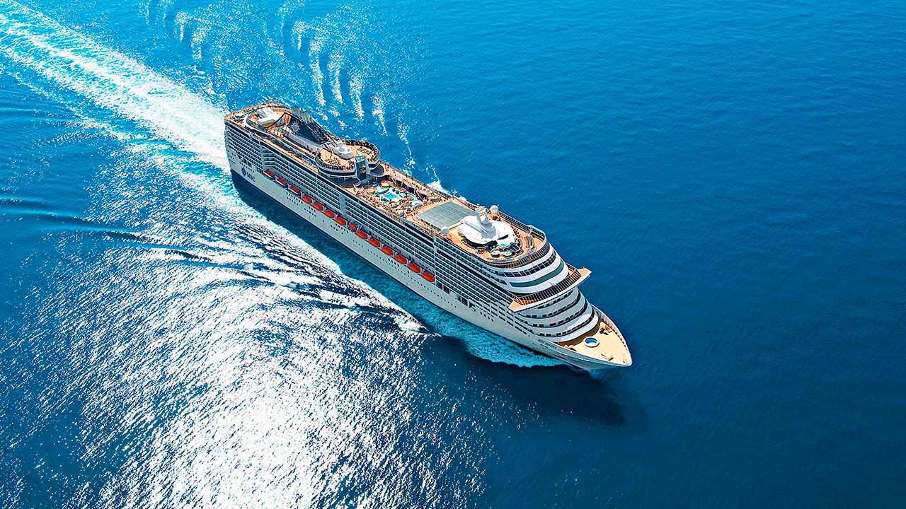 Круизный корабль MSC Divina