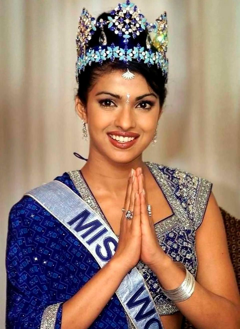 Фото   Мисс Мира 2000 года Приянка Чопра
