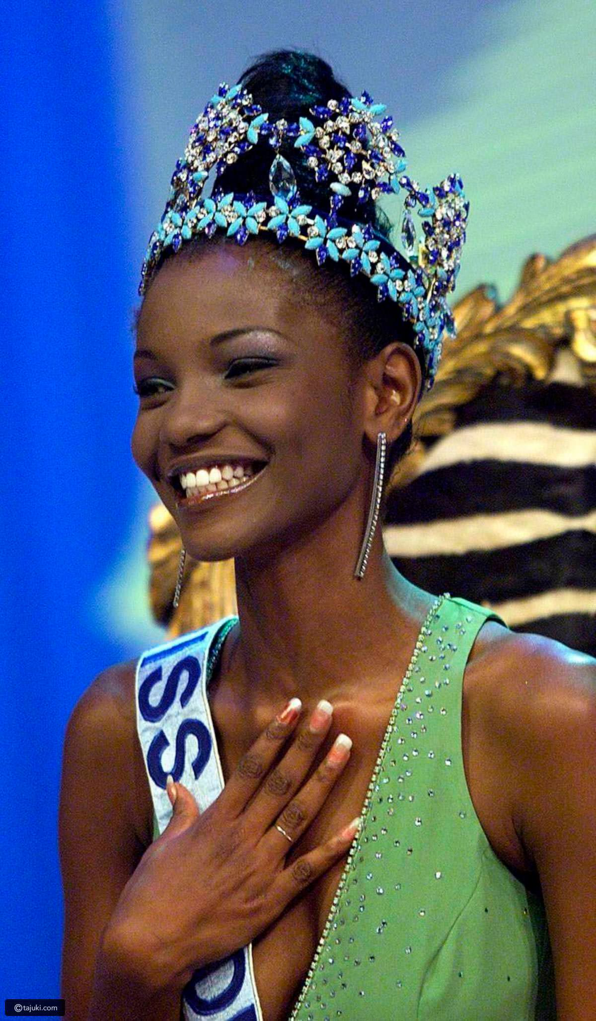 Фото   Мисс Мира 2001 года Агбани Дарего