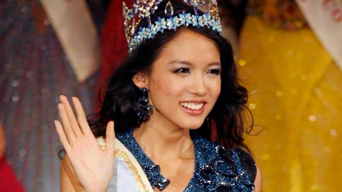 Фото   Мисс Мира 2007 года Чжан Цзылинь