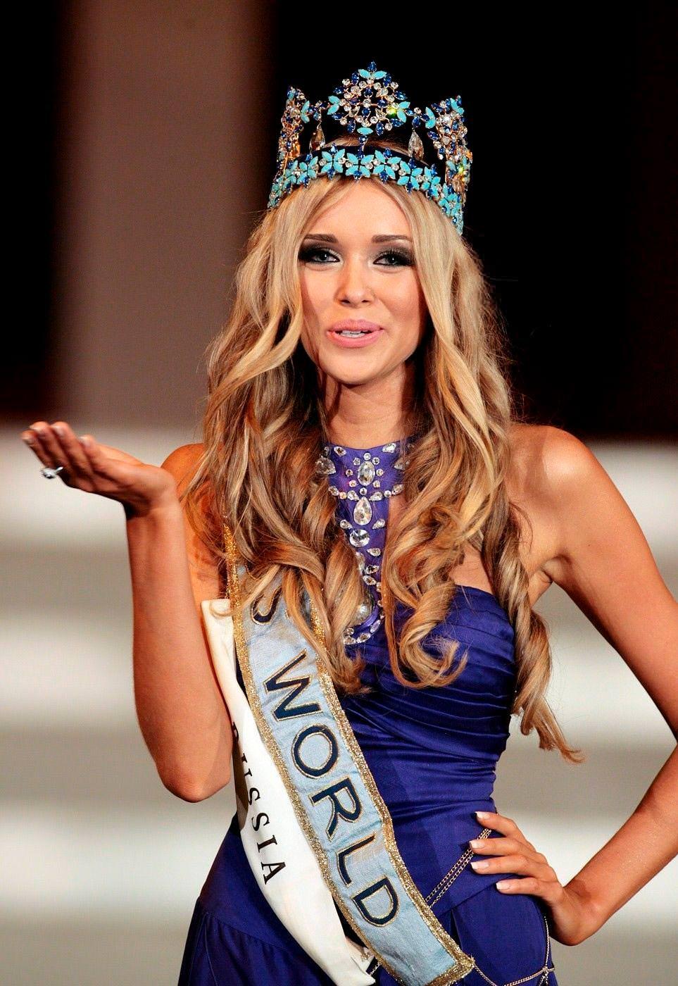 Фото | Мисс Мира 2008 года Ксения Сухинова
