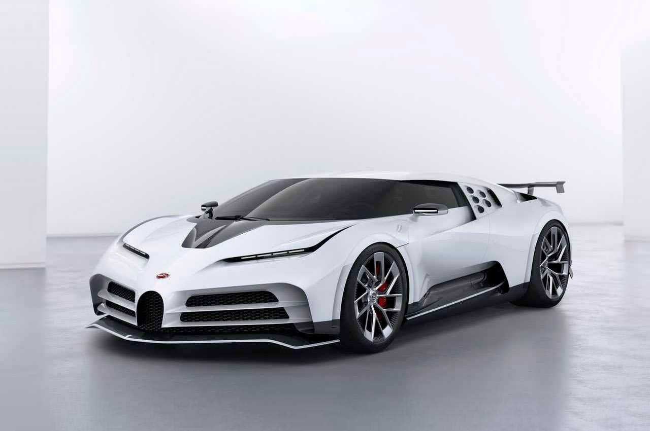 Криштиану Роналду купил Bugatti Centodieci за £8,5 млн