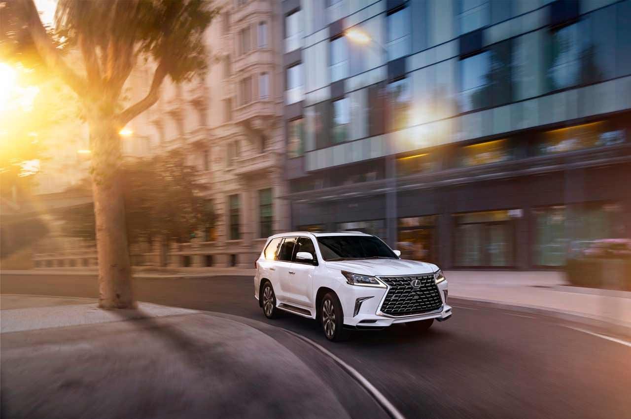 Внедорожник Lexus LX обновился на 2021 модельный год   фото