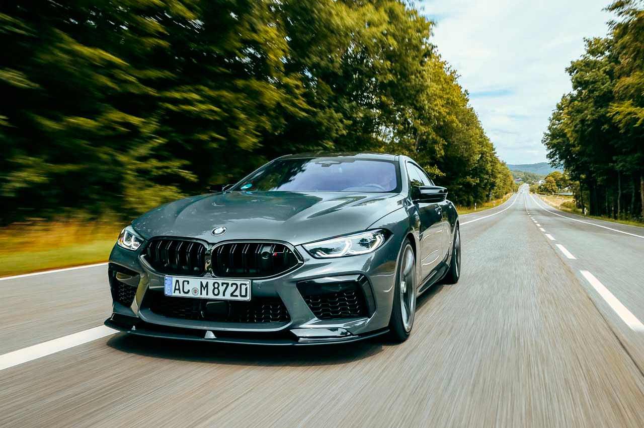 AC Schnitzer сделал мощный тюнинг BMW M8 Competition | фото