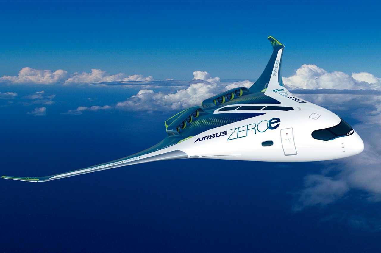 Airbus готовит самолёты на водородном топливе и показал концепты