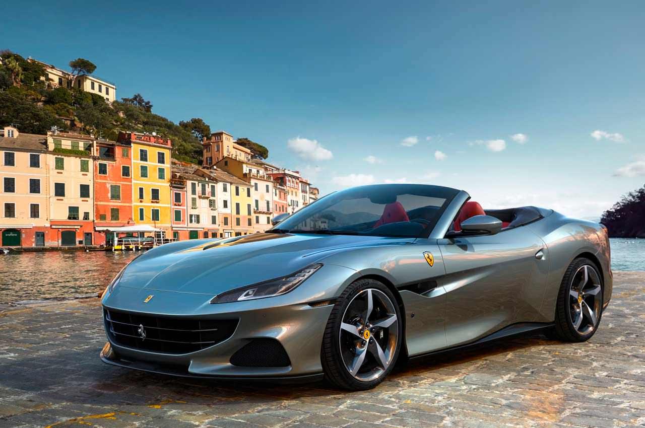 Новый кабриолет Ferrari Portofino M выкатили официально | фото