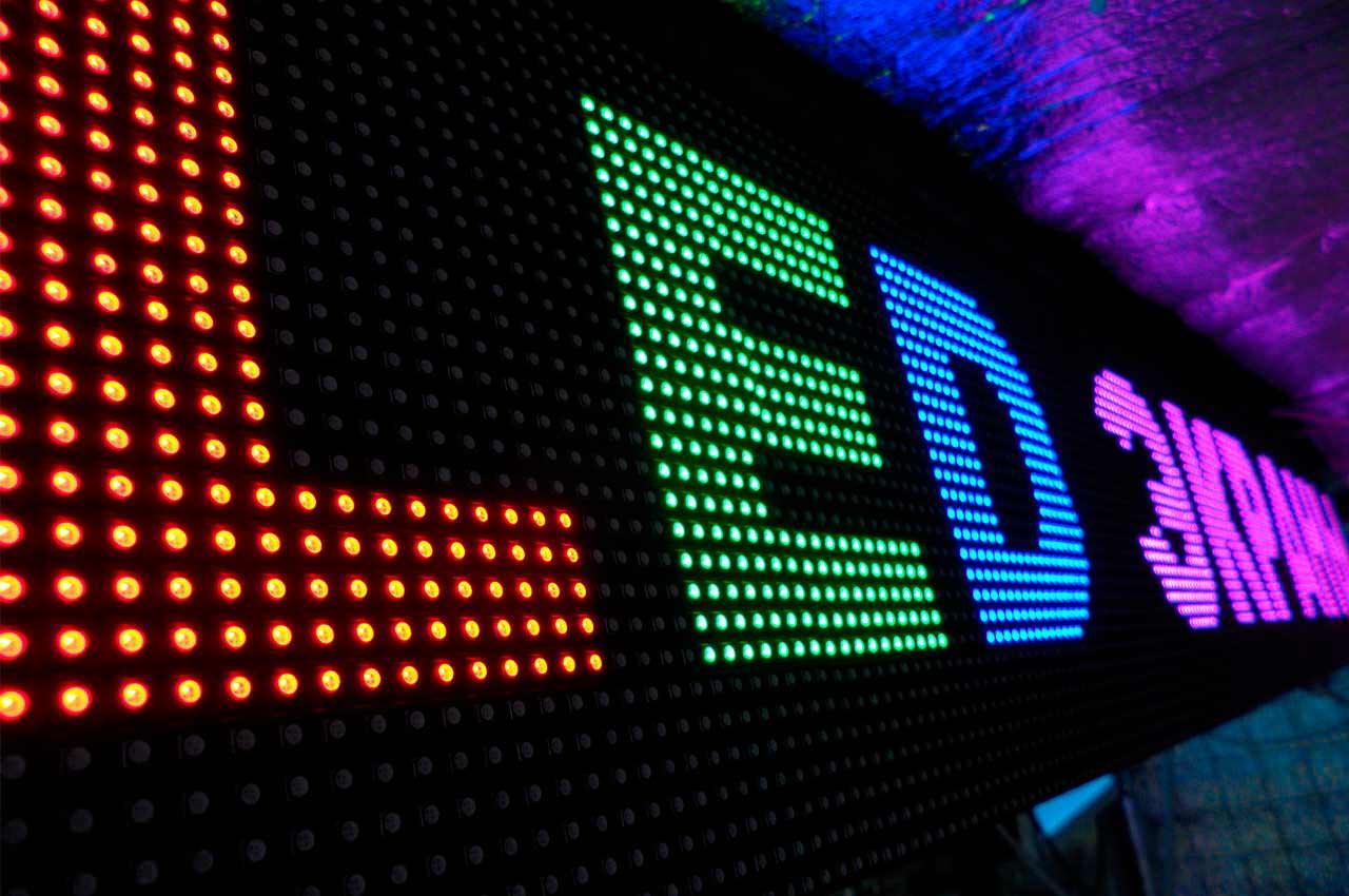 LED-дисплей — новое слово наружной рекламы