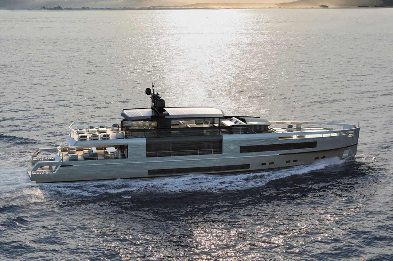 Antonini Navi показала 40-метровую модульную яхту UP40 | фото