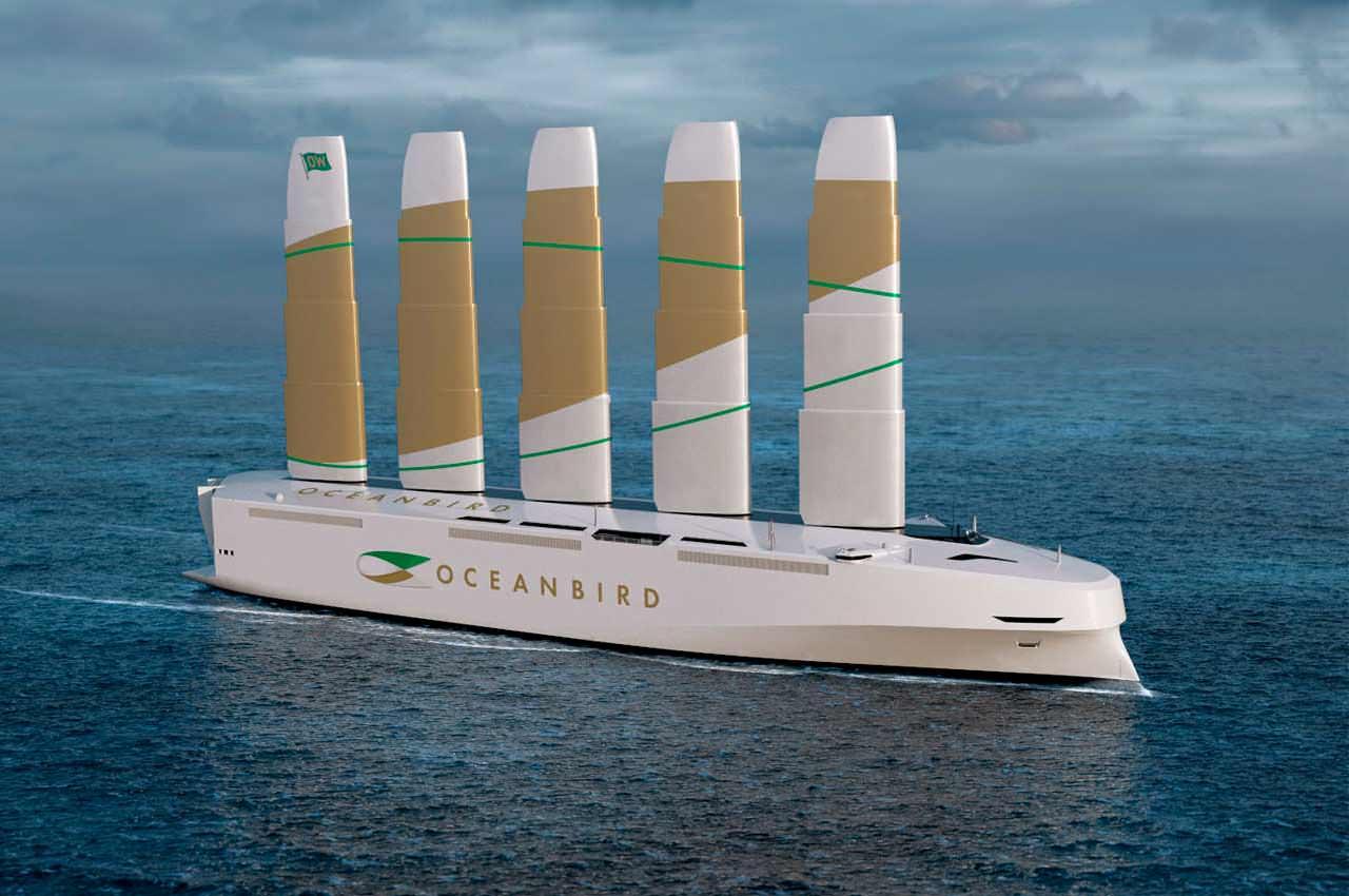 Oceanbird переосмысливает идею парусного танкера