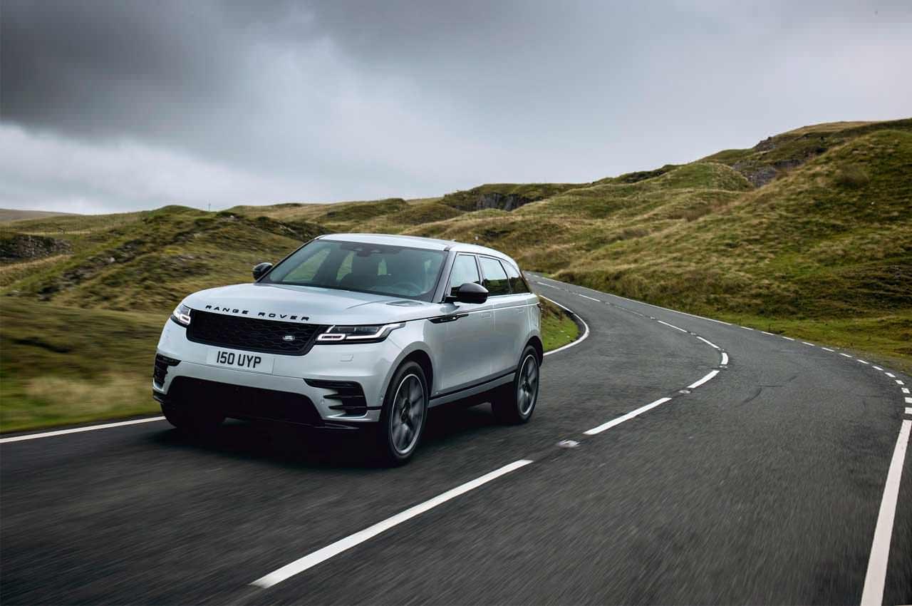 Range Rover Velar обновился на 2021 год официально | фото