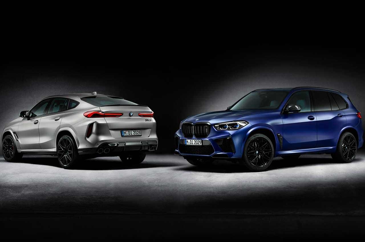 Новые BMW X5 M и X6 M Competition вышли в приветственной серии