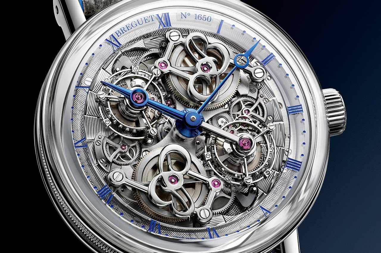 Breguet сделал классические часы с двумя турбийонами