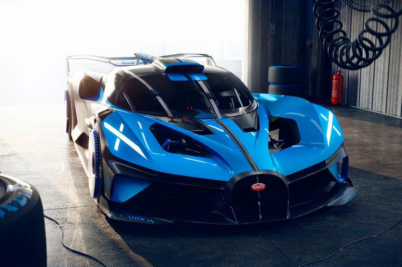 Bugatti Bolide — гоночный гиперкар, способный на 500 км/ч