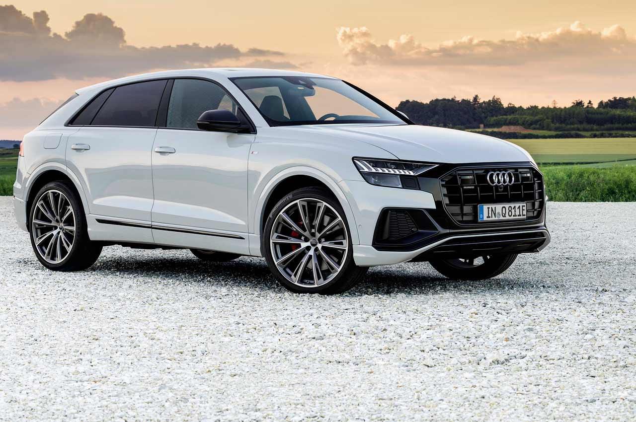 Подключаемый-гибрид Audi Q8 TFSIe Quattro официально | фото, цены